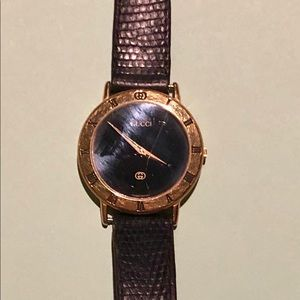 Ladies Gucci watch late 80's